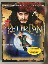 Peter Pan Live (DVD, 2014); Seldom Watched