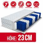 Matratze 90x200 140x200 180x200 Taschenfederkern MEDIC MAX 7 Zonen Höhe 23cm H3 günstig