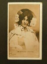 Cigarette Card Sniders & Abrahams 1904 Actresses (Talma) Ser II Miss P Preston