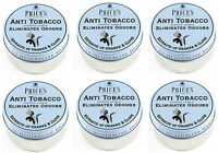 6x Price's Anti-Tobacco Candle in Tin - Eliminates Tobacco and Smoking Odour