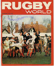 RUGBY WORLD MAGAZINE FEBRUARY 1973 - PERFECT GIFT FOR A FAN BORN IN THIS MONTH