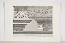 Rome Thermes d'Agrippa (Panthéon) Fragments Antiques d'ESPOUY 19/20°