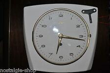 orig. 50s / 60s Küchenuhr von Urgos Uhr aus Keramik, original 50er / 60er RAR !!