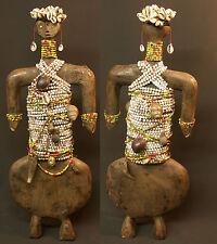 A Art Africain rare statuette ancienne 53cm poupée Namchi cameroun esthétique
