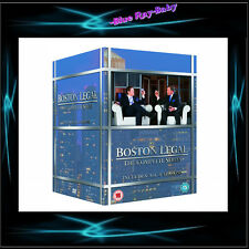 BOSTON LEGAL - COMPLETE SERIES SEASONS 1 2 3 4 5  *** BRAND NEW BOXSET***