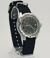 Wristwatch Komandirskie Zakz MO USSR Vintage Soviet Military Diver watch VOSTOK