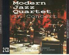 CD THE MODERN JAZZ QUARTETin concert2CD VG++ (A3585)