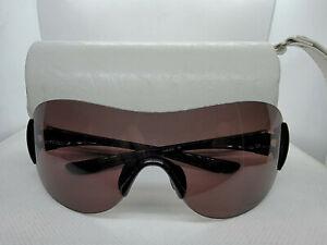 OAKLEY OO9123-01 MISS CONDUCT Polished Black Frame OO Grey Polarized Sunglasses