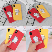 Cartoon Pattern Cute Funny Hard Phone Case Cover For iPhone XS Max X R 7 8 Plus.