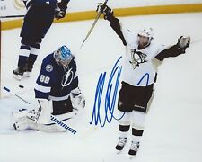 Matt Cullen Signed 8x10 Photo Pittsburgh Penguins Autographed COA