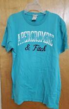 juniors men's size m aqua short sleeve Abercrombie t shirt
