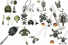 Novelty Neck Knives. Spider, Scorpion, Skull, Goth, Biker, Military, & More!