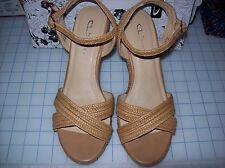 WOMENS CL BY LAUNDRY COMO BRAIDED WEDGE SANDALS MULTIPLE COLOR/SIZES NIB MSRP$60