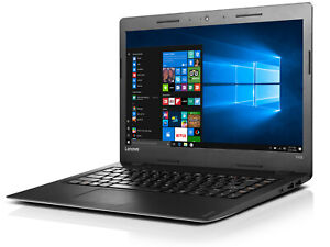 "Lenovo 100S-14IBR INTEL N3060 4GB 128 SSD WEBCAM WIFI HDMI 14"" WIN 10"