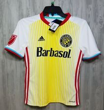 NEW Adidas Columbus Crew Soccer Jersey Boys Size Medium NWT MLS