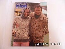 VOTRE MAGAZINE TRICOT N°177 SEPTEMBRE 1976 MODELES HIVER     K20