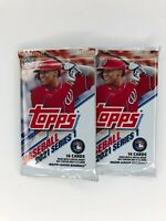 2021 S1 Topps Baseball 2 Pack Factory Sealed RC, Auto