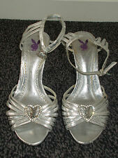 Silver Playboy Sandales (taille 3)