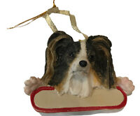 Papillion Dog Ornament Can Be Personalized New