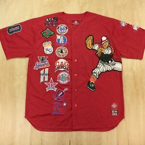 Cross Over Inc Negro Leagues jersey 3XL XXXL embroidered patches