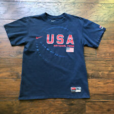 VTG Nike Dream Team USA Basketball Short Sleeve T Shirt Olympics Mens Small