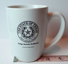 State of TEXAS 352nd Judicial District Coffee Mug Judge Bonnie Sudderth Vintage