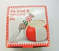 Boston Warehouse Dip Bowl & Spreader Set