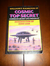 COSMIC TOP SECRET William Hamilton UFO Conspiracy Book Secret UFO Space program