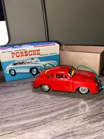 Modern Toys Battery Operated Porsche 356B 1/29 Remote Control Japan Vintage MIB