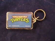 Teenage Mutant Ninja Turtles Classic Cartoon Logo Keychain TMNT Key Ring 1980s