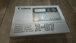 Canon X-07