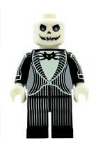 Custom Designed Minifigure - Mr Jack Skeleton Skellington Printed On LEGO Parts