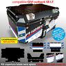 Kit COMPLETO adesivi COMPATIBILI bauletto top case GIVI 58 LT 2017 x BMW R1250HP
