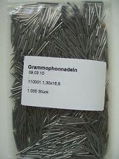 Super 1.000 Grammophonnadeln für 78rpm Schellackplatten Mittelaut medium needles