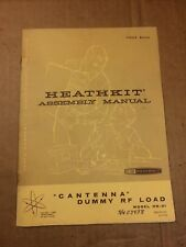 Heathkit HN-31 Assembly Manual Original Factory Paper Booklet Cantenna