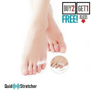 Silicone Gel Small Toe Separator Corrector Orthotics Straightener Bunion Protect