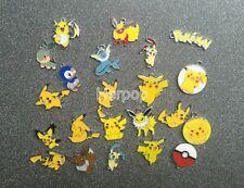 22pcs Pikachu Pokemon 22 Styles Metal Charms DIY Jewelry Making Pendants Earring