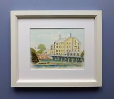 "Original Framed Watercolour ""Northam Mill on the River Avon"" Northam W Australia"