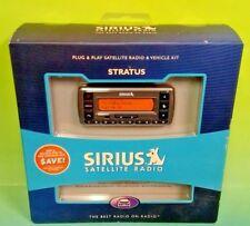 BRAND NEW SEALED MINT - SV3R Stratus Satellite Radio Receiver + Vehicle Kit