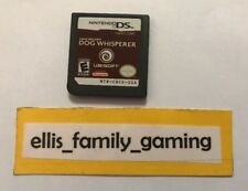 Cesar Millan's Dog Whisper Nintendo DS / 3DS Game Only Works Great Ships Fast