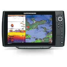 New Humminbird 410000-1 Helix 12 Chirp Dual Spectrum GPS w/ transducer