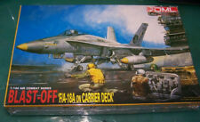 DML Dragon 1/144 F/A-18A on carrier deck 'Blast Off' sealed kit 4003