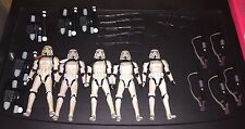 Sandtrooper Star Wars The Black Series 6 Inch Lot Of 5 Patrol Unit