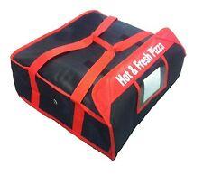 """Bolsa de entrega de pizza (tamaño 20"""" X 20"""" X 7"""") completo con aislamiento todos los lados mantenerlo caliente"""