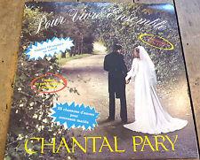 LP vinyl Album Chantal Pary Pour Vivre Ensemble !