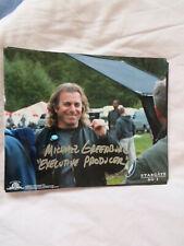 Star Gate SG1 Michael Greenburg (exec producer) autograph