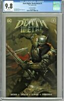 Dark Nights Death Metal #1 CGC 9.8 Comics Elite Edition A Brown Cover Variant