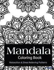 Mandala Coloring Book: Coloring Books for Adults : Stress Relieving Patterns (Ma