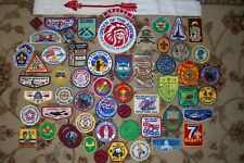 Vintage lot of Boy Scouts Patches