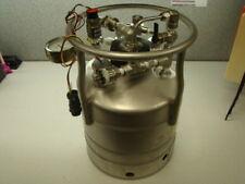 Alloy Products Pressure Vessel Tank, 135PSI @ 100ºF, w/ McDaniel Gauge
